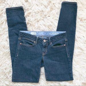 Gap 1969 Always Skinny Dark Wash Jeans